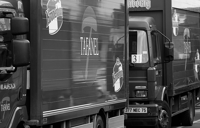 100 véhicules de livraison